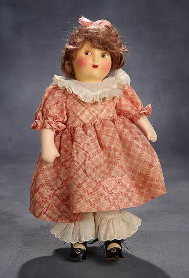 "Cloth ""Beth"" from ""Little Women"" with Rosy Cheeks and Original Costume 500/800"