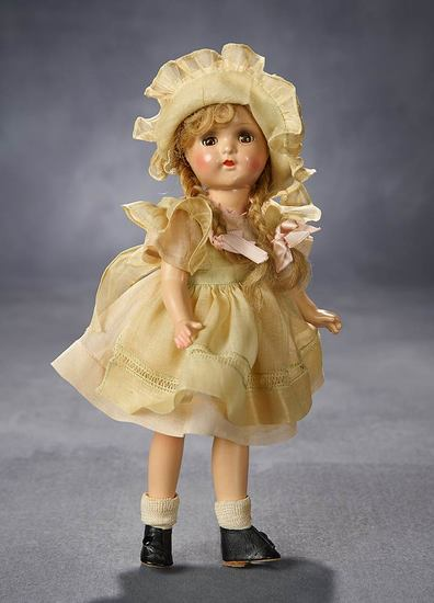 Petite Composition McGuffey-Ana in Original Pastel Costume with Original Box 200/400