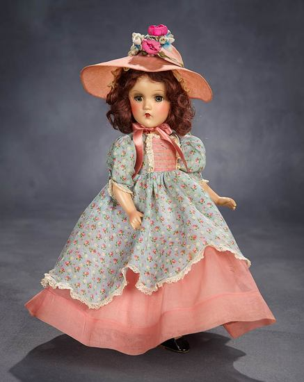 "Composition ""Southern Girl"" in Rare Costume with Original Box 900/1500"