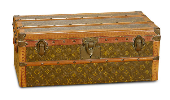 19th Century French Trunk by Louis Vuitton for Poupee 1200/1800
