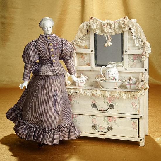 German Porcelain Doll Known as Nymphenburg Lady 1100/1400