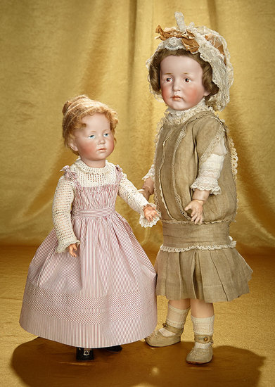 """German Bisque Art Character, 101, """"Marie"""" by Kammer and Reinhardt 1100/1500"""