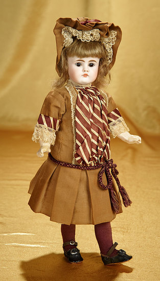 All-Original German Closed Mouth Child, 208, by Bahr and Proschild 800/1200