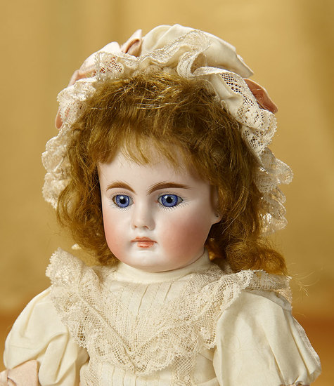 German Bisque Closed Mouth Child Doll, 204, by Bahr and Proschild 700/900