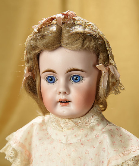 German Bisque Child Doll, Model 204 with Open Mouth by Bahr and Proschild 400/500
