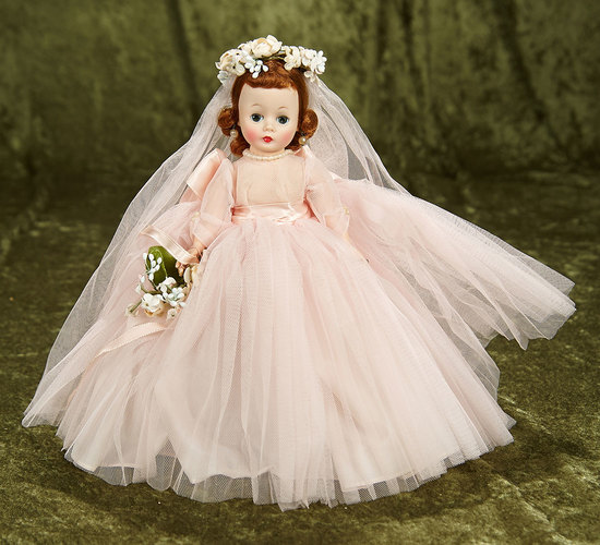 """10"""" American """"Cissette"""" in Bridesmaid costume by Alexander $200/300"""