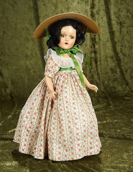 "18"" American composition Scarlett O'Hara by Alexander in original costume. $400/600"