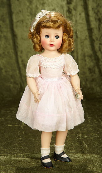 """18"""" American """"Madelaine"""" by Madame Alexander with original costume. $200/400"""