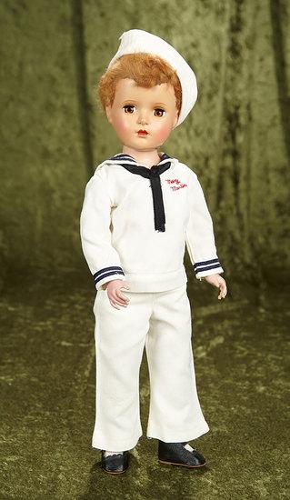 "17"" American hard plastic ""Mary Martin"" portrait doll by Alexander, original costume. $400/500"