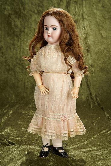 "24"" German bisque child, model 109, by Handwerck in beautiful original costume. $400/600"
