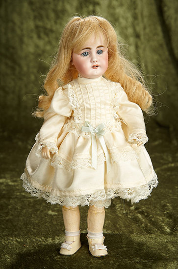 "14"" German bisque child, 949, by Simon and Halbig. $600/800"