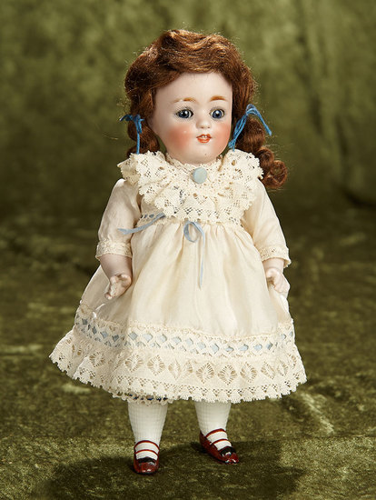 "9"" Large German all-bisque miniature doll, model 150, by Kestner. $300/500"