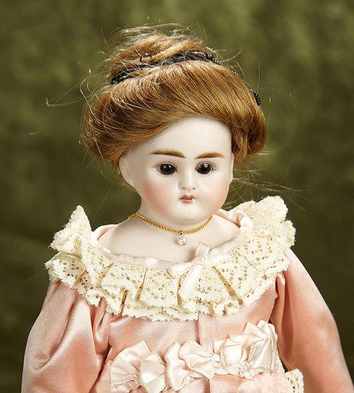 "13"" German bisque lady doll by Alt, Beck and Gottschalk. $200/400"
