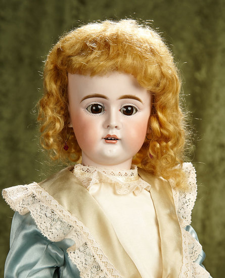 "27""Beautiful  Sonneberg bisque child doll, rare model 273 by Bahr and Proschild. $500/750"