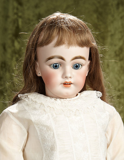 "28"" German bisque child, 1009, by Simon and Halbig, original body, antique dress. $600/900"