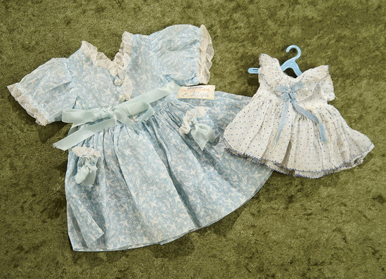 Two Costumes for Shirley Temple, 1930s. $300/400
