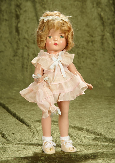 "13"" Composition Betty as Shirley Temple Look-Alike by Alexander, Original Costume. $300/500"