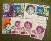 Twelve Music sheets from early Shirley Temple films with illustrations of Shirley. $200/300
