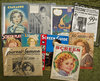 Six 1930s trade magazines featuring Shirley Temple on the cover. $200/300