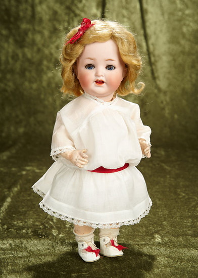 "14"" German bisque toddler, model 342, by Heubach Koppelsdorf. $300/500"