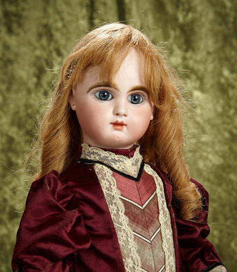 "24"" French bisque bebe ""Mascotte"" by May Freres with beautiful eyes. $2800/3400"