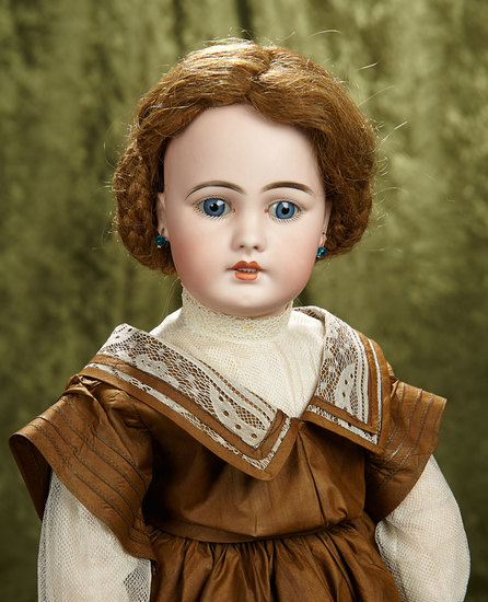 "21"" German bisque doll, model 939, by Simon and Halbig. $700/900"