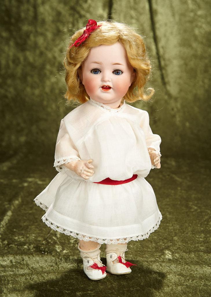 "14"" German bisque toddler, model 342, by Heubach Koppelsdorf. $300/500"