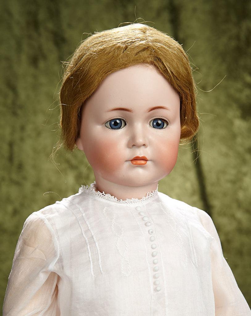 """26"""" Beautiful German bisque child """"Mein Liebling"""", model 117, Kammer and Reinhardt. $2800/3200"""