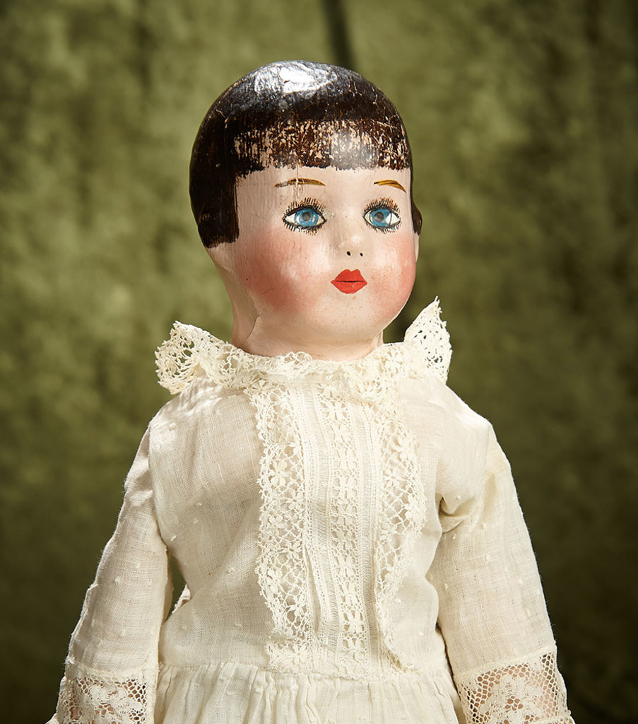 "18"" American Cloth Alabama Baby with Bobbed Hair by Ella Smith. $600/800"