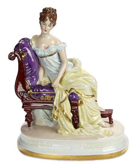 German Porcelain Figurine with Crossed Swords Markings 500/700
