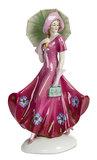 German Porcelain Fashionable Lady Figurine  300/500