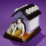 Amusing German Porcelain Hat-Pin Holder  200/400