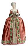 German Porcelain Half-Doll Depicting 18th-Century Lady as Tea-Cozy 300/400