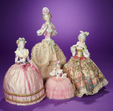 German Porcelain Half-Doll as Tea Cozy  200/400
