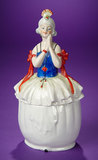 German Porcelain Art Deco Lady in Highly Stylized Costume 200/400