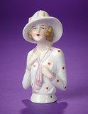 German Porcelain Half-Doll 100/150