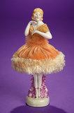 German Porcelain Half-Doll with original Pincushion 100/200