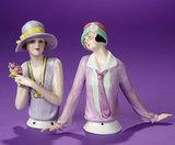 German Porcelain Half-Doll