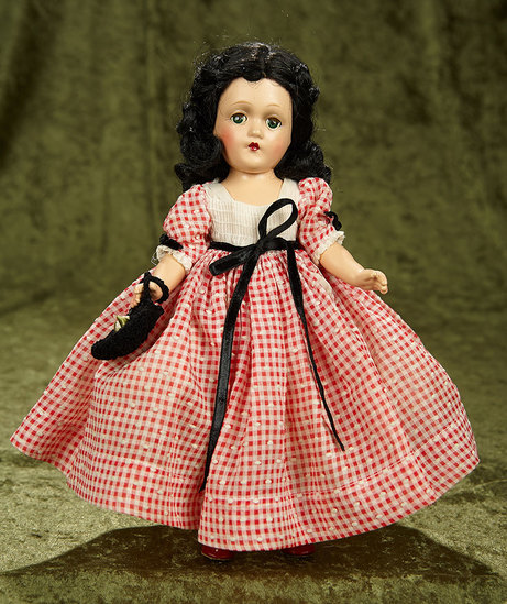 """12"""" Composition """"Scarlett O'Hara"""" by Alexander in rare costume and size. $400/500"""