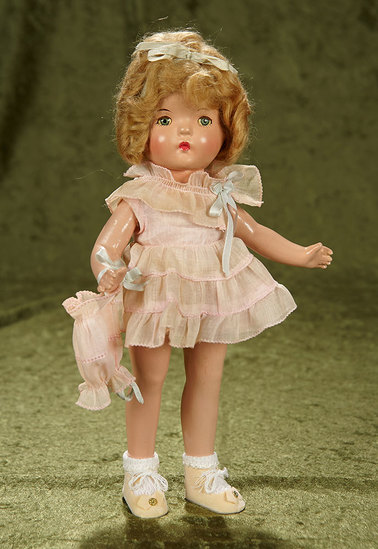 """13"""" Composition Betty as Shirley Temple Look-Alike by Alexander. $400/500"""