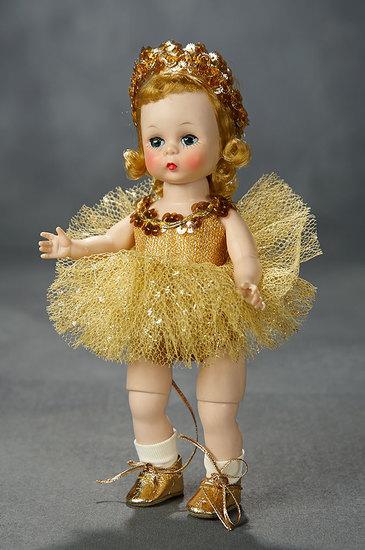 "Alexander-Kins ""Wendy as a Gold Ballerina"" in Original Kins Box, 1959 400/500"