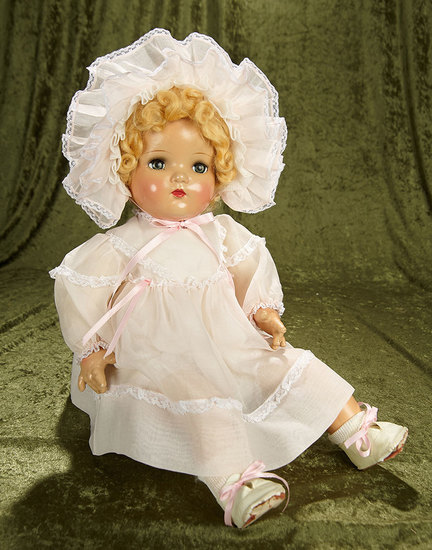 "22"" American composition baby doll by Madame Alexander. $200/300"