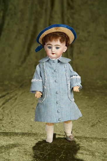 """11"""" German bisque child, 1009, by Simon and Halbig. $300/500"""