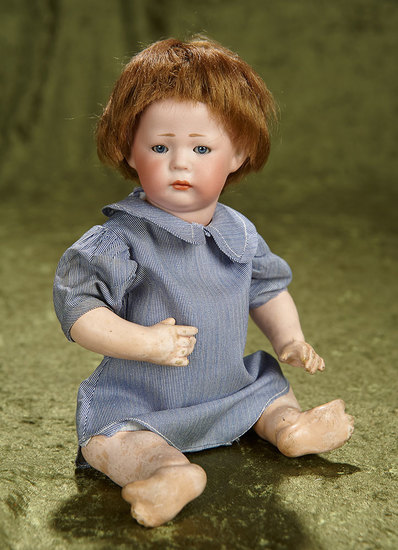 """10"""" German bisque pouty character, model115, """"Phillip"""", by Kammer and Reinhardt $900/1200"""