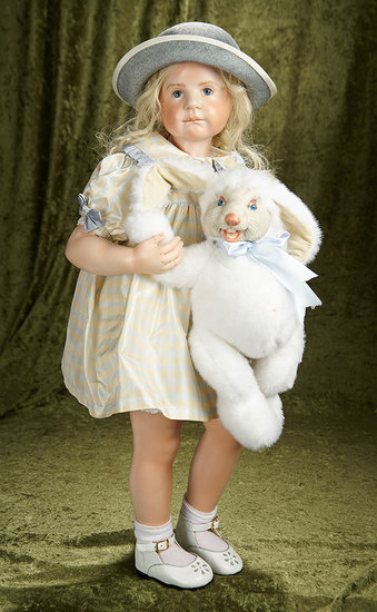 "30"" ""Harriet One Year Later with Her Bunny"" by Hildegard Gunzel, 23/25. $900/1200"