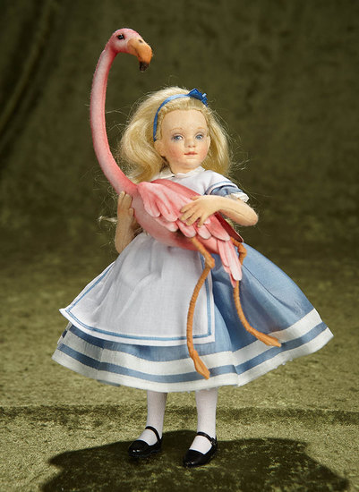 "10"" ""Alice in Wonderland"". Commemorative Edition by R. John Wright  $400/600"
