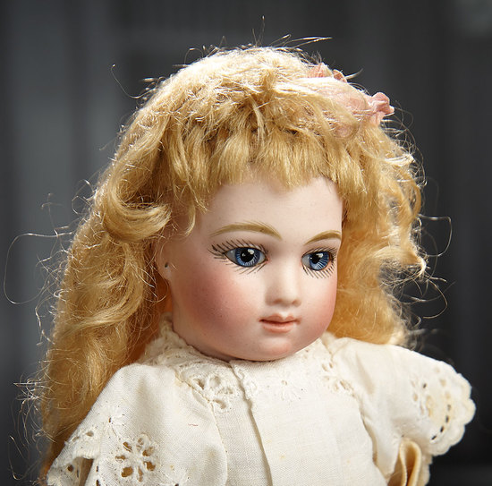 Very Rare and Stunningly Beautiful Petite French Bisque Bebe A.T. by Andre Thuillier 8000/11,000
