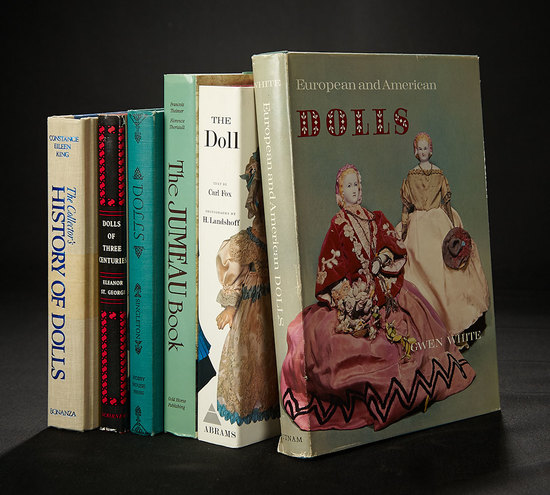 Six Reference Books of Dolls from the Huguette Clark Library 100/200