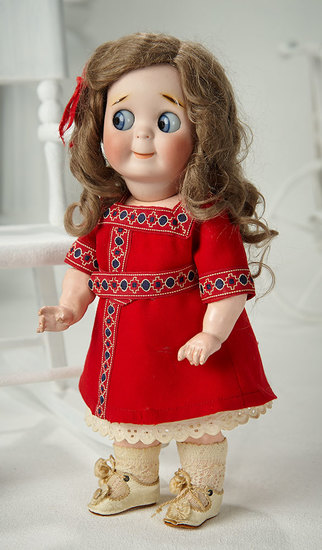 German Bisque Googly, 221, by Kestner with Original Toddler Body 2800/3500