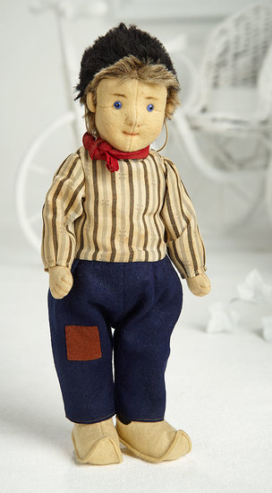 Early German Felt Character Boy by Steiff  900/1300